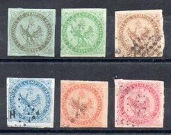 COLONIES GENERALES - Aigle Impérial YT N° 1 à 6 - Cote: 160,00 € - Aigle Impérial