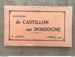 Carnet De Castillon Sur Dordogne - France