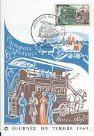 Arte Fête Du Timbre 1969 Beaune - Philatelic Fairs