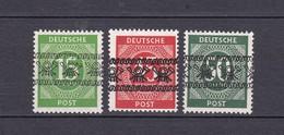 Bizone - 1948 - Michel Nr. 58 I + 65/66 I - Zone Anglo-Américaine
