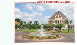 Cpsm -    Sainte Genevieve Des Bois - Hôtel De Ville        V1069a - Sainte Genevieve Des Bois