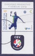 SLOVENIA 2019 - European VOLLEYBALL Championship, Sports, 1v MNH (SPECIMEN) - Slovenia