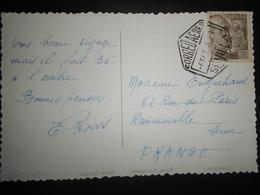 Espagne Carte De Sevilla 1952 Pour Romainville - 1931-Heute: 2. Rep. - ... Juan Carlos I