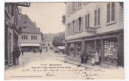 Doubs - Montbéliard - Coin De La Rue Denfert Et Rue Viette - Montbéliard