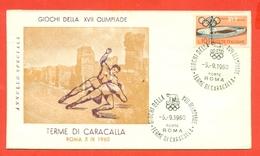 LOTTA- OLIMPIADI ROMA - 1960 - Lotta