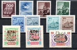 Pologne / Lot De Timbres / Etats Divers - 1944-.... Republic