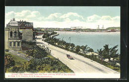 CPA Durban, The Esplanade, With The Point And The Bluff In The Distance - Zuid-Afrika