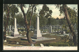 CPA Bloemfontein, Soldiers Graves In The Old Cemetery - Zuid-Afrika