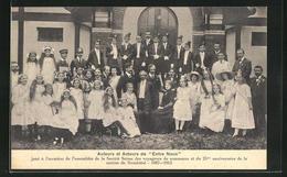 AK Neuchatel, Auteurs Et Acteurs De Entre Nous 1887-1912 - NE Neuenburg