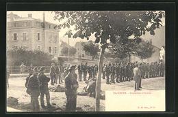 AK Ste-Croix, Inspection D`Armes - VD Vaud