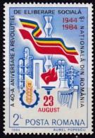 Rumänien, 1984, 4076,  MNH **,  40. Jahrestag Des Sturzes Der Faschistischen Regierung. - 1948-.... Repubbliche