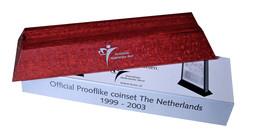 Nederland 3 Houten Voetjes Voor Prooflike Set - Pays-Bas