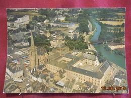 CPM GF - Redon - Vue Aérienne De La Tour Romane Et Du Collège Saint-Sauveur - Redon
