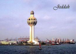 1 AK Saudi-Arabien * Der Hafen Von Dschidda Mit Dem Leuchtfeuer Dschidda Mit 133 M Das Höchste Leuchtfeuer Der Welt - Saudi-Arabien