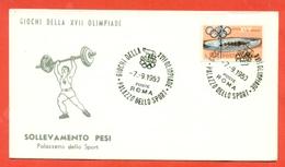 PESISTICA - OLIMPIADI ROMA - 1960 - Pesistica