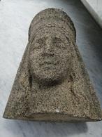 SUPERBE SCULPTURE EN PIERRE - Sculptures
