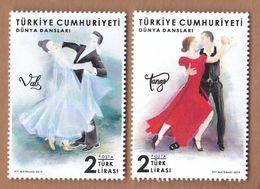 AC - TURKEY STAMP - WORLD DANCES MNH ANKARA, 29 APRIL 2019 - Nuevos