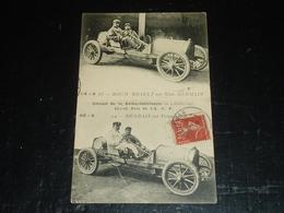 Circuit De La Seine-infèrieure - Grand Prix De L' A.C.F. - ROCH BRAULT SUR VOIT. GERMAIN  - Thème Voiture De Course (AE) - Cartes Postales