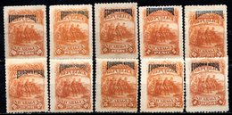 NICARAGUA - 1892 - Service - N° 21 à 30 - (Lot De 10 Valeurs Différentes) - Nicaragua