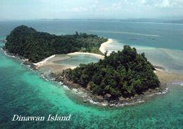 1 AK Borneo Sabah State Malaysia * Die Insel Dinawan Ist Sabah Vorgelagert - Eine Privatinsel - Luftbildaufnahme * - Malaysia
