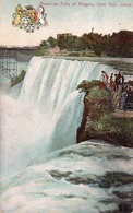 AMERICAN FALLS OF NIAGARA FROM GOAT ISLAND- VIAGGIATA 1931 - Niagara Falls