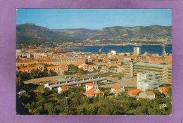 83 La Seyne ( Ouest ) Et La Rade De Toulon Au Loin : La Vallée De Dardennes Entre Le Mont Caumes Et Le Faron - La Seyne-sur-Mer