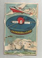 Cp , Carte à Systéme , Militaria ,calendrier De La Classe , Ed. Gaby - Mechanical