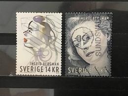 Zweden / Sweden - Complete Set Ingrid Bergman 2015 - Gebruikt