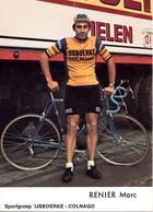 RENIER Marc BEL (Roeselare (West-Vlaanderen), 28-3-'53) 1976 IJsboerke - Colnago - Cyclisme