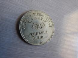 JETON TOMBOLA 1906 - Noodgeld