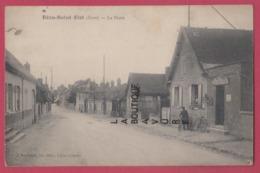 27 - BEZU SAINT ELOI-----La Poste---animé - Francia