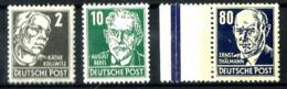 Alemania Oriental Nº 91-94-104 En Nuevo - [6] Democratic Republic
