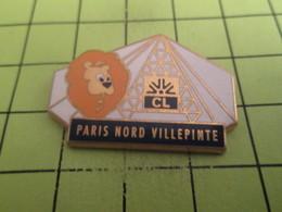 1215c Pin's Pins / Beau Et Rare : THEME : BANQUES / CREDIT LYONNAIS Rendez L'argent !!! PARIS NORD VILLEPINTE Par DECAT - Banks