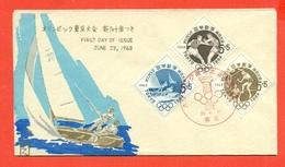 VELA - OLIMPIADI TOKYO - 1964 - GIAPPONE - JAPAN - NIPPON - Vela