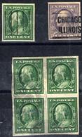 Estados Unidos Nº 167D, 169d. Año 1908/9 - Gebruikt