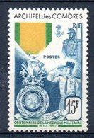 COMORES - YT N° 12 - Neuf ** - MNH - Cote: 66,00 € - Comores (1950-1975)