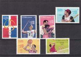 Cuba Nº 1740 Al 1745 - Nuevos