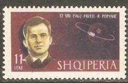 Albania 1963. Cosmonautas. Space. Mi 760. MH. **. - Albania