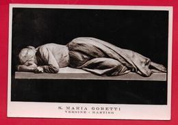 CARTOLINA VG ITALIA - SANTA MARIA GORETTI - Vergine Martire - P. Passionisti - 10 X 15 - ANN. 1960 - Santos