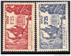 Dahomey N° 113 / 14  XX Exposition Internationale De New-York La Paire TB - Dahomey (1899-1944)