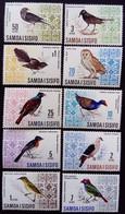 Samoa 1967 Animal Oiseau Bird Yvert 202-211 ** MNH - Samoa