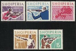 Albania 1965. Deportes. Tiro. Sports. Mi 934 / 938. MNH. **. - Albania