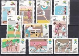 Cuba Nº 3116 Al 3125 - Nuevos