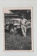 Photo Originale Véhicule DB 1945 à Identifier - Guerre, Militaire