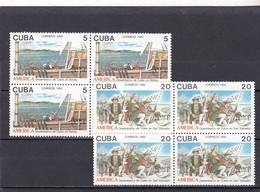 Cuba Nº 3202 Al 3203 En Bloque De Cuatro - Nuevos