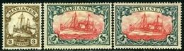 Mariana Islands. Sc #30,31,31a. Unused. * - Kolonie: Marianen