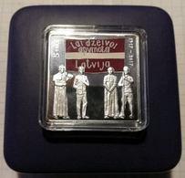 Latvia 2017 5 EUR, PROOF, Silver 925, 26 G, 32 X 32 Mm, Latgales Kongress, Latgale Congress - Lettland