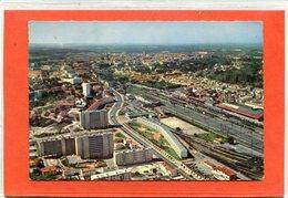 16  .ANGOULEME  ,  Vue  Générale Aérienne .La Gare Et Les Nouveaux Immeubles       ,  Cpsm  10,5 X 15 - Angouleme