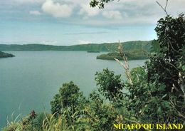 1 AK Tonga * Niuafo'ou Island -Vai Lahi, Big Lake Inside Of The Volcanic Crater - Auch Bekannt Als Tin Can Island * - Tonga