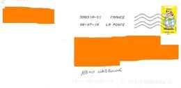 Timbre Tous Irréductibles Obélix Cinéma Astérix Toshiba - Coil Stamps